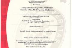 HACCP 2016 Srpski/Serbian